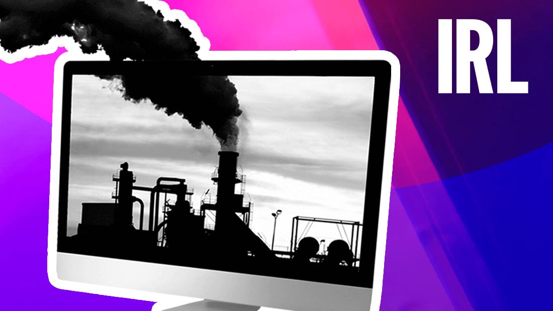 The Internet's Carbon Footprint